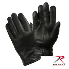 Rothco 4472 Cold Weather Leather Police Gloves - Black