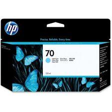 HP Ink Light Cyan 130 Ml. C9390A E