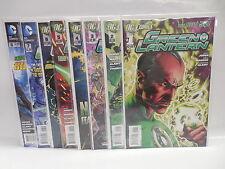 Green Lantern New 52 DC Comic Books 1-8 Geoff Johns Sinestro Corps