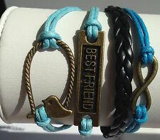 Infinity/Best-Friend/Bird-Cage Bracelet