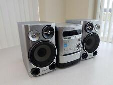 Sony Cmt-Hpz9 Micro Stereo System 5 Cd Disc Changer Cassette Am/Fm