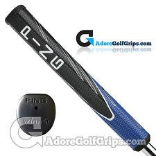 Ping PP65 Jumbo Pistol Putter Grip By Winn - Black / Blue / White + Free Tape