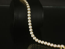 Wertvolles Brillant Tennisarmband ca. 3,70ct  24g 750/- Gelbgold