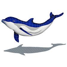Bottlenose Dolphin Downward Ceramic Swimming Pool Mosaic
