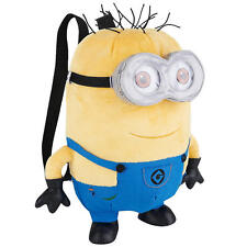 Despicable Me 2 Plush Soft Stuffed Minion Jerry 13 inch Backpack