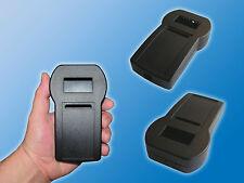 1x ABS Kunststoff Universal Handgehäuse mit Batteriefachöffnung Schwarz