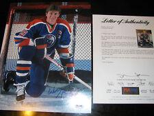 Wayne Gretzky Signed 11x14 Photo PSA DNA Edmonton Oilers HOF Autographed Auto #2