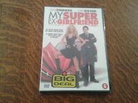 dvd my super ex-girlfriend avec uma thurman, luke wilson NEUF