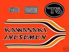 1972 Kawasaki MT1 Decal Set