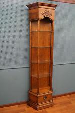 IMPRESSIVE Display Curio Cabinet Lighted Knick Knack Shelf DREXEL Bookcase
