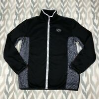Puma x Les Benjamins Mens Track Top Zip Up Jacket Black Size L Large 595467 01
