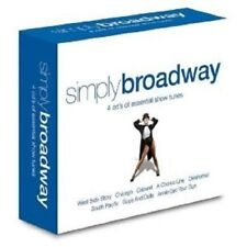 Simply Broadway 4 CD NUOVO