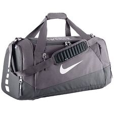 $80 NEW Nike Hoops Large Elite Max Air Team Duffle Bag Dark Grey