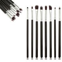 8Pcs Pro Makeup Brush Set Eyeliner Eyeshadow Eyebrow Lip Brush Cosmetic Tool Kit