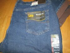 LEE Big & Tall Relaxed Fit Fleece Lined Men,s Jeans Size 48 X 32