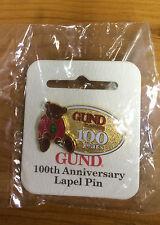 Gund - Gund 100 Years Anniversry Lapel Pin