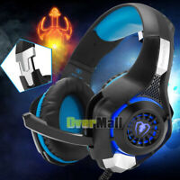 3.5mm Gaming Game Headset Headphone with Mic PC Laptop PS4 Xbox One Console