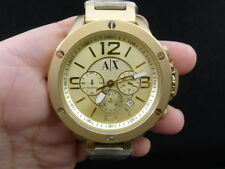 NEW OLD STOCK ARMANI EXCHANGE AX1504 CHRONOGRAPH DATE QUARTZ MEN WATCH
