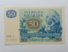 More details for sweden 1978 50 kronor uncirculated