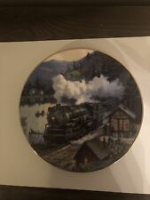 Crescent Limited Plate Romance of the Rails Railroad Train David Tutwiler 0517A