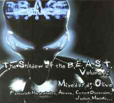 DJ OLIVE - The Shadow Of The Beast Vol. 2 - CD NEW Hardcore / Gabba SPIRAL TRIBE