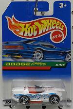 Race Car White #4 Canada 1997 Mopar Dodge Viper Rt/10 Boys Mattel Hw Hot Wheels