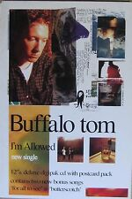 """40x60"""" HUGE SUBWAY POSTER~Buffalo Tom I'm Allowed 1993 Big Red Letter Day NOS~"""