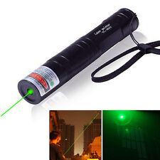 Grün Licht Laserpointer Pen 532NM 5mW Match Professional Lazer Visible Beam
