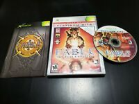 Fable: The Lost Chapters-Platinum Hits (Microsoft Xbox, 2005) COMPLETE! TESTED!