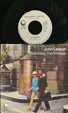 JOHN LENNON 45 TOURS HOLLANDE WATCHING THE WHEELS