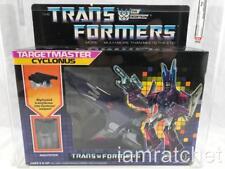 Transformers Original G1 AFA 80 Targetmaster Cyclonus MOSC MIB 80/85/90