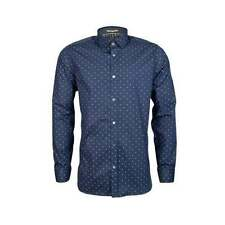 Ted Baker Men's Cotton Blend Long Sleeve Casual Shirts & Tops