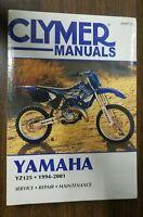 New Clymer Repair Manual Yamaha YZ125 1994-2001 M497-2