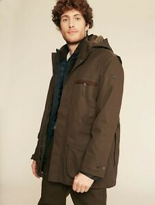 Aigle Men's Courtal 3-in-1 Jacket - Bronze Green - Size L - RRP £255