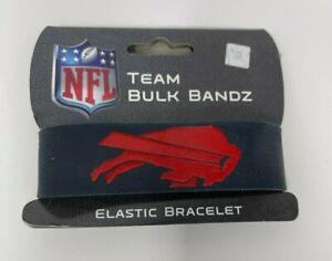 Buffalo Bills Bulk Bandz Elastic Wrist Band Bracelet