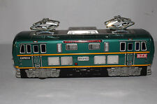 1950's Made in Japan Large Battery Operated B.C.E. Express Train Engine, Works