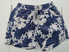 Vilebrequin Blue Flowers Swimming Shorts Age 8 Kids - good condition