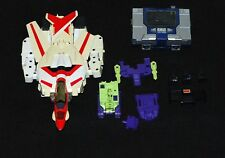Transformers JETFIREG1 1984 Bandai SOUNDWAVE  Devastator LOT