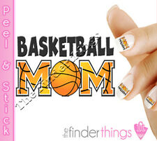 Basketball Mom Proud Mom Nail Decal Sticker Set BSK101