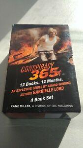 Lot 4 Conspiracy 365 HC Novels Gabrielle Lord January-April