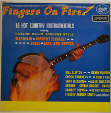 Fingers on Fire - 16 Hot Country Instrumental-starday ha. - b.8205 LP (x171)