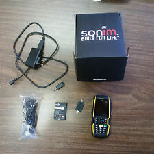 LIKE NEW, Sonim XP5560 Bolt 2 (Bell) bundle, Rugged, Weatherproof, Black/Yellow