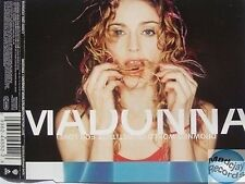 MADONNA DROWNED WORLD / SUBSTITUTE FOR LOVE MAXI CD #1