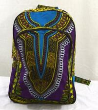 "Dashiki African 19"" Book backpack school bag backpack Rucksack tribal. Brand new"