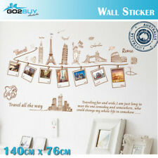 Wall Stickers Removable World Travel Photo Living Room Decal Art Decor Kid