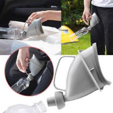 Unisex Portable Urinal Funnel Handle Urine Bottle Outdoor Travel Urination Devic