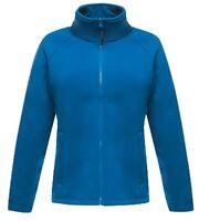 Regatta Ladies Womans Plain BLUE PINK RED GREEN BLACK Full Zip Fleece Jacket