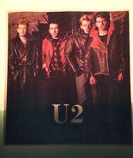 80's U2 War Boy Under Blood Red Sky October Rock Orig VTG t-shirt iron-on NOS