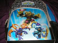 Skylanders Swap Force Canvas Backpack  Spyro Hoot Loop Star Strike