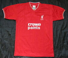 1986-1987 LIVERPOOL FC RETRO home shirt jersey SCORE DRAW trikot adult/ SIZE M